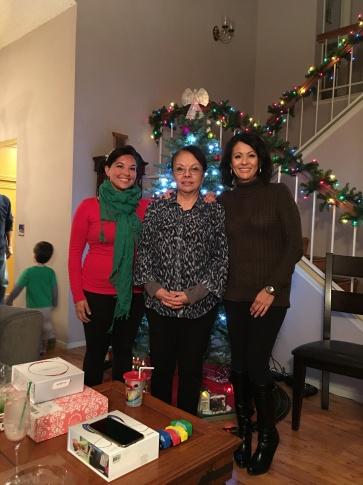 Mom and Sis!