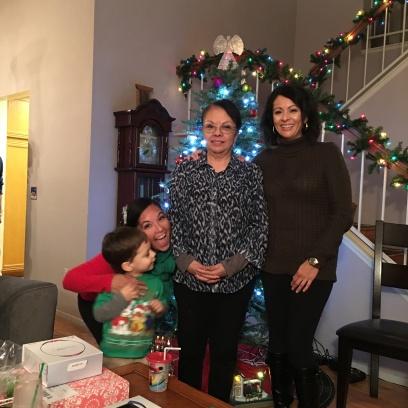 Mom and Sis and Photobomber #1: Jacob