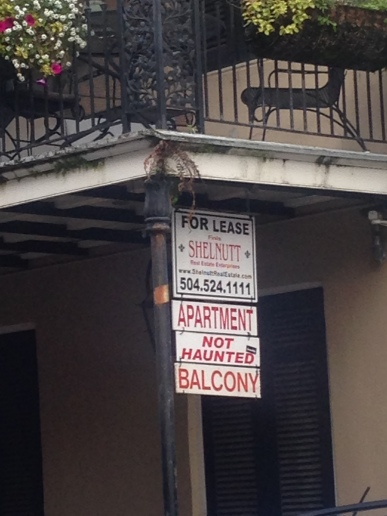 Totes not haunted...