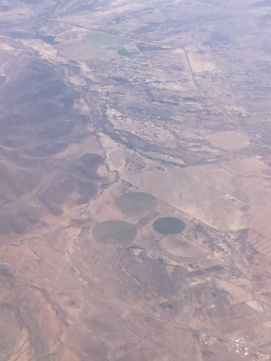 Flying over Chihuahua.